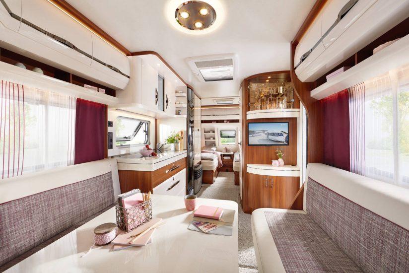 Nieuwe Badkamer Caravan : Hobby excellent caravan