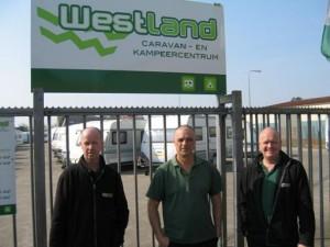 Werkplaats team v.l.n.r. Gert, Cees, Edwin